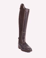Parlanti Passion Reitstiefel KK Boots, Lederreitstiefel, Damen, schwarz, braun